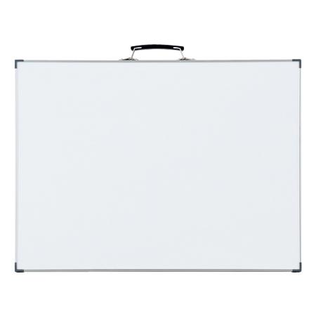 工事用ホワイトボード 無地 44.5×59.5cm スチール製 ( 送料無料 工事用品 黒板 現場写真用 )