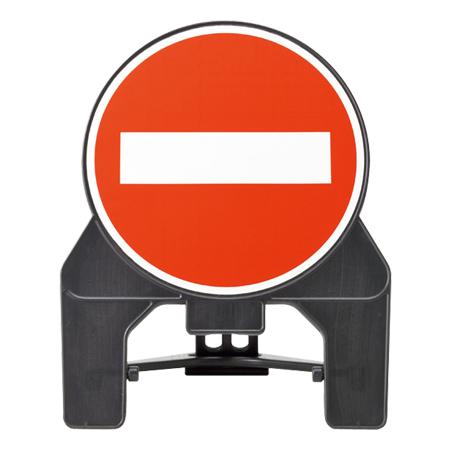 通路立て看板 進入禁止マーク 102×85cm ( 送料無料 サイン標識 禁止表示 )