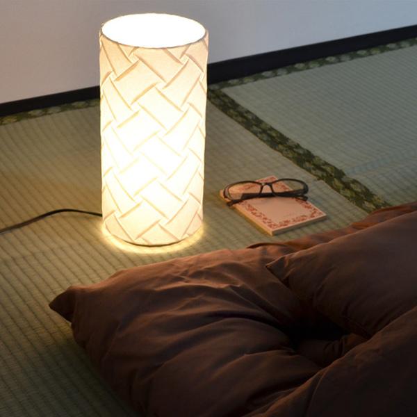 テーブルライト 和紙 プリーツ 織姫 1灯 ( 送料無料 照明 和風 テーブル LED 和室 和モダン デスク 照明器具 和照明 おしゃれ 日本製 )