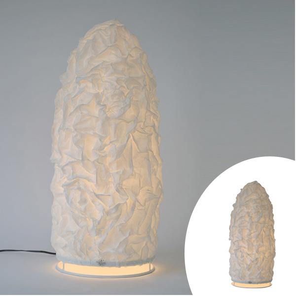 フロアライト 和紙 和紙固め 高さ60cm ( 送料無料 照明 天井 和風照明 和室 和モダン 照明器具 1灯ペンダント LED 電気 ペンダント照明 インテリア シーリングライト 1灯式 )