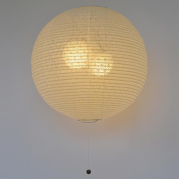 明かりを点けると浮かぶ麻の葉柄が美しい ペンダントライト 和紙 ペンダントランプ 麻葉白 2灯 ついに入荷 送料無料 照明 天井 和風照明 照明器具 インテリア 和室 シーリングライト お買い得品 和モダン LED 2灯式 電気 ペンダント照明 2灯ペンダント