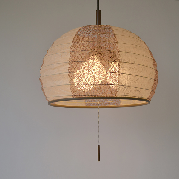 chinese style lighting. Pendant Lamp Cloud Dragon Beige X Hemp Leaf Chinese Tea Tree Style Lighting I