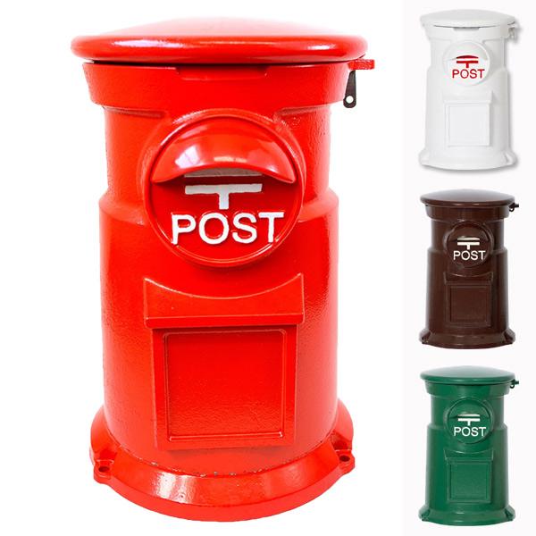 郵便ポスト レトロポスト コマチ ( 送料無料 ポスト 郵便受け メールボックス 新聞受け 置き型 置物 )