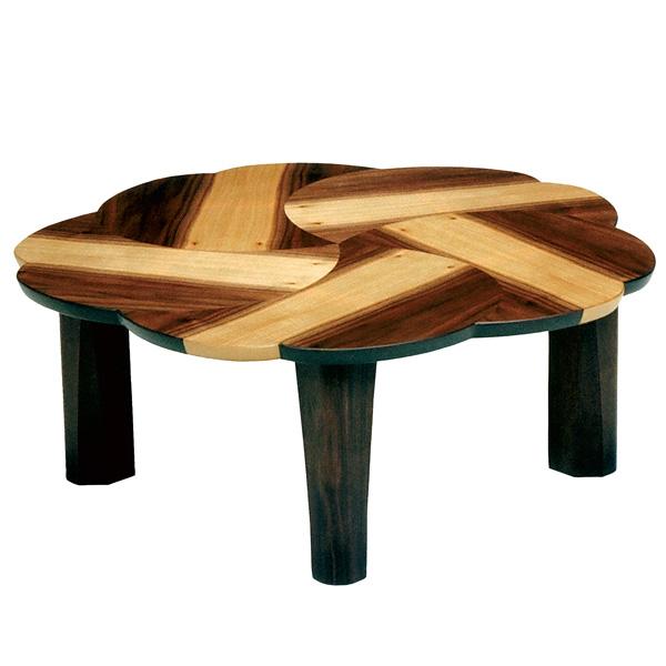 座卓 折れ脚 ローテーブル 木製 桜桃 幅90cm ( 送料無料 テーブル 折りたたみ ちゃぶ台 ウォールナット 突板仕上げ 日本製 和室 和 和モダン )
