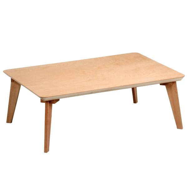座卓 ローテーブル 木製 樺桜 幅105cm ( 送料無料 桜 突板仕上げ 日本製 ちゃぶ台 テーブル 和室 和 ナチュラル シンプル 木目 )