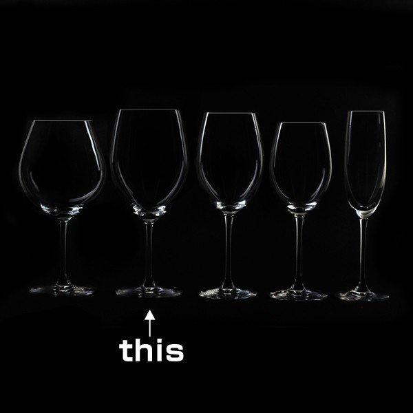 波尔多玻璃杯PALLONE parone 720ml 3块安排玻璃制造(支持洗碗机的水晶玻璃杯玻璃西式餐具koppugoburettowaingurasuguddodezain奖获奖酒器酒杯)