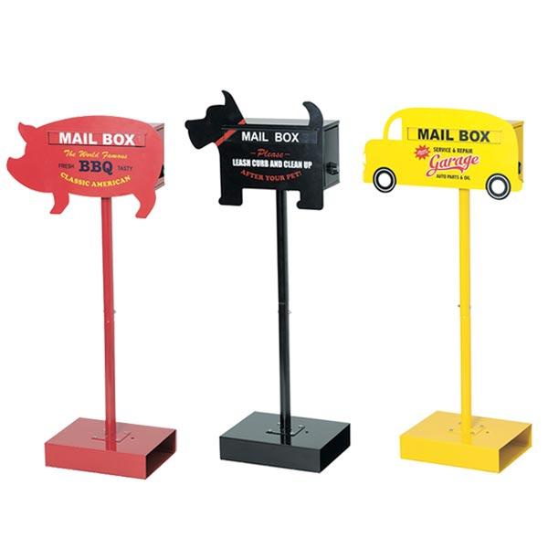 郵便ポスト メールボックス ( 送料無料 ポスト 郵便受け メールボックス 新聞受け スタンドタイプ アニマル 犬 ドッグ おしゃれ セトクラフト )