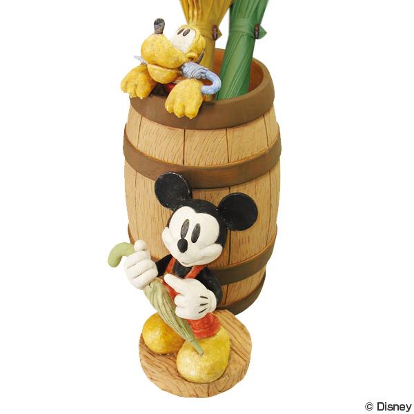 傘立て ディズニー ミッキー&プルート ( 送料無料 おしゃれ ミッキー 傘立 アンブレラスタンド ミッキーマウス プルート 傘たて セトクラフト )