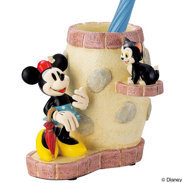 傘立て ディズニー ミニー&フィガロ ( 送料無料 おしゃれ ミニー フィガロ 猫 ネコ 傘立 アンブレラスタンド ミニーマウス 傘たて セトクラフト )