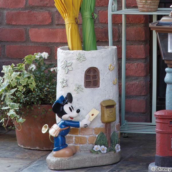 傘立て ディズニー ポストマンミッキー ( 送料無料 おしゃれ ミッキー 傘立 アンブレラスタンド ミッキーマウス 傘たて かさたて セトクラフト 傘 )