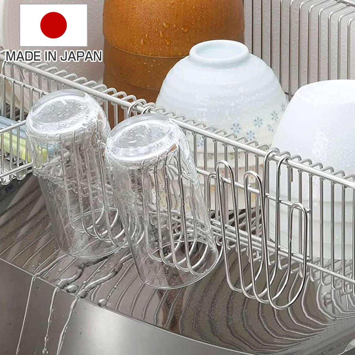 水切りラックに掛けてグラスやまな板の水切りに使える グラススタンド 水切りラック用 グラスフック ステンレス製 グラス用フック コップ用フック グラスホルダー 限定価格セール グラスハンガー コップスタンド グラス掛け まな板スタンド コップ掛け 水切りカゴ用 グラス 激安セール 水切りかご用 コップ