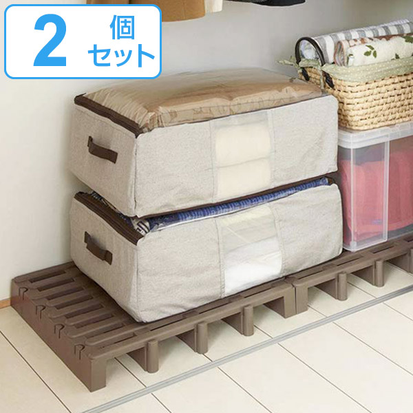 Slatted Bed Base Joint Pallets For Closet 2 Car Set (plastic Veranda Da  Closet Made In Japan Futons Underlay Floor Gridiron Closet Anti Mildew)