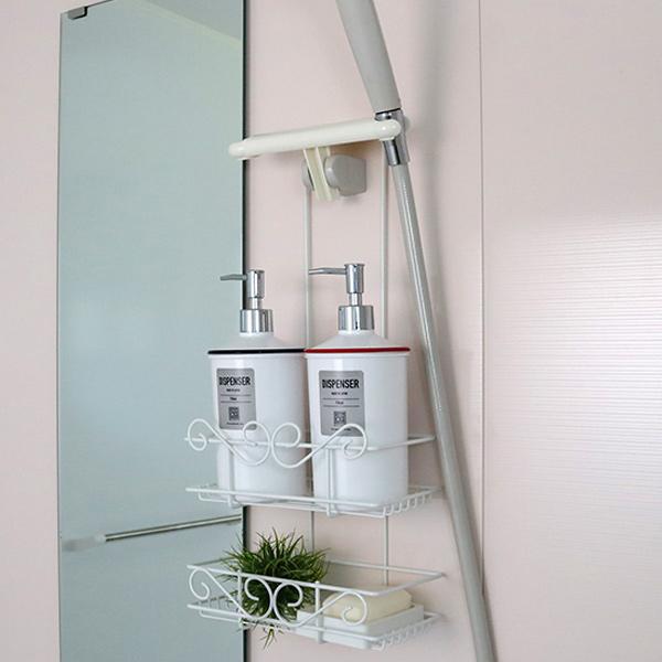 livingut | Rakuten Global Market: Shower rack double with shower ...