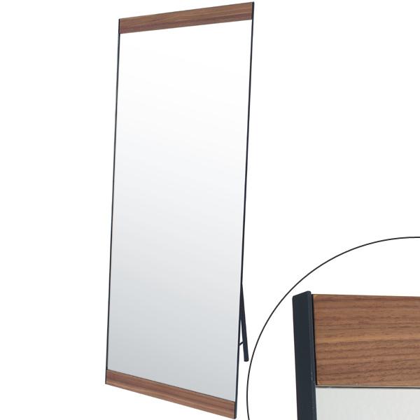 姿見 スタンドミラー シルエット ビンテージ S600 ( 送料無料 鏡 全身鏡 ミラー ドレッサー かがみ 全身ミラー ルームミラー 玄関 洗面所 木目 木製 飛散防止加工 )