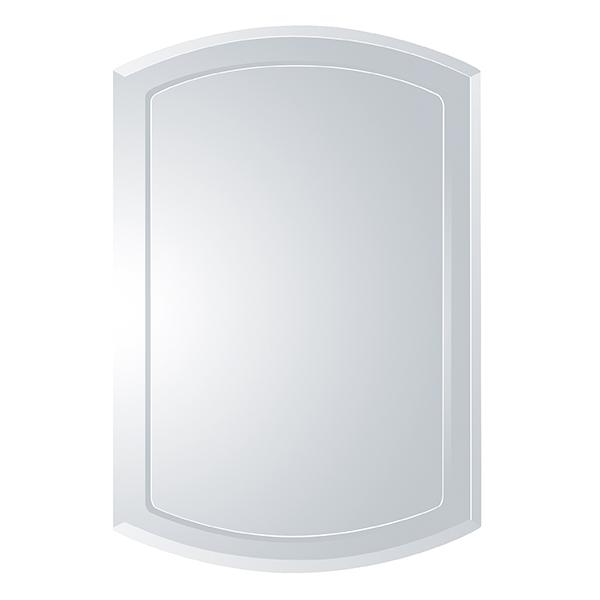 ミラー 鏡 高さ60cm ウォールミラー ノンフレーム 壁掛け 姿見 ( 送料無料 かがみ カガミ 壁掛けミラー 飛散防止 壁掛け鏡 おしゃれ 吊り下げ リビング 玄関 寝室 インテリア フレームなし )