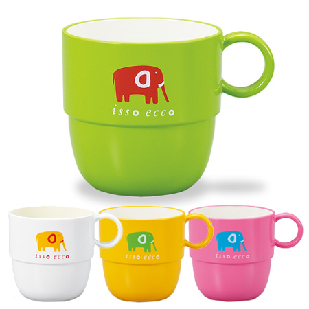 Cup Mug Isso Ecco Animal S Print Dinnerware Food Washing Machines For Plastic Cups Children Light Break Easily Range
