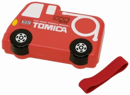 かっこいいパトカーの型のトミカのお弁当箱 ランチボックス 子供用 キャラクター キャラクター ダイカットランチボックス お弁当箱 トミカ TOMICA 消防車 子供用