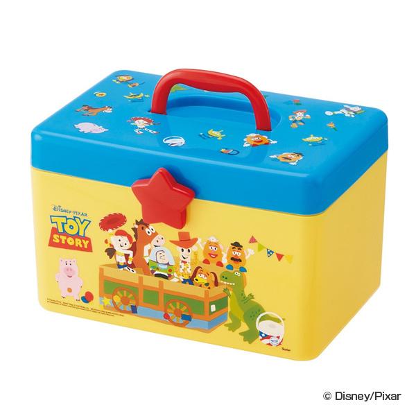 好きな所で仕切れる小ぶりの収納ボックス 収納 ボックス 送料無料 持ち手付きボックス トイ ストーリー 小物入れ 収納ケース 収納BOX 仕切り トイストーリー 持ち手 NEW 持ち手付き バズ 道具箱 おもちゃ箱 ウッディ