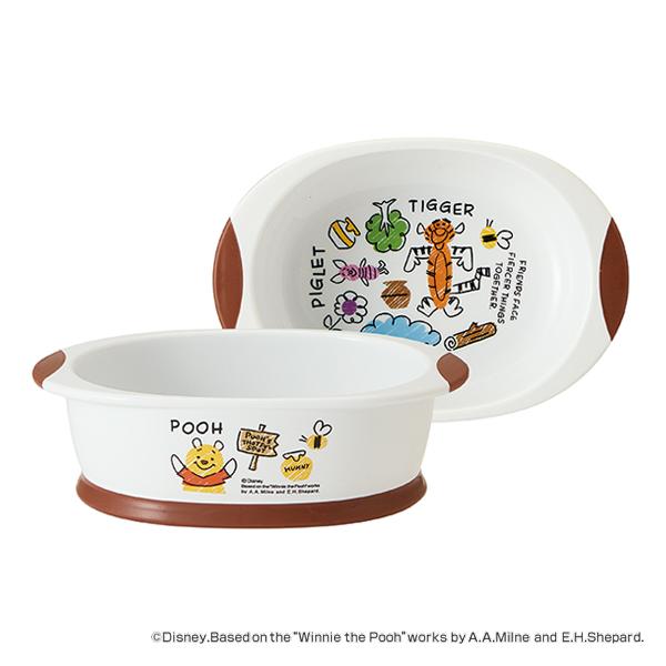 食べ物がすくいやすい小鉢 小鉢 期間限定で特別価格 400ml POOHスケッチ ボウル 食器 離乳食 ディズニー キャラクター うつわ ベビー食器 プーさん ついに再販開始 電子レンジ対応 食洗機対応 赤ちゃん すくいやすい 7ヶ月