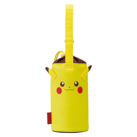 Plastic bottle case die insulated bottle cover Pikachu 500 ml for (Pocket Monster Pokemon bottle porch children's plastic bottle holder) P19Jul15