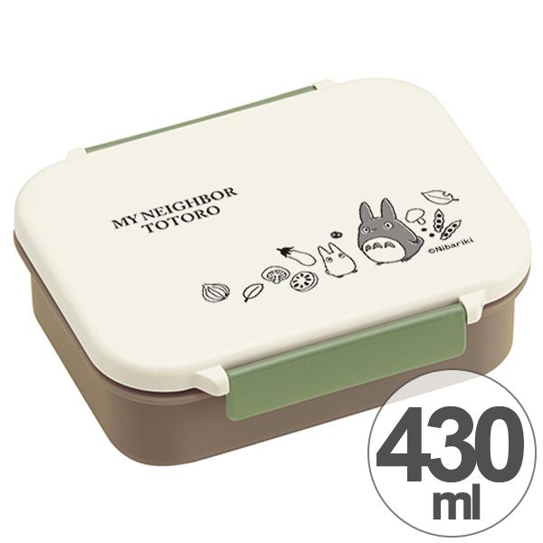 お弁当箱 タイトウェア となりのトトロ そらいろ 430ml キャラクター ( 保存容器 食洗機対応 仕切り付き 1段 弁当箱 ランチボックス 子供用お弁当箱 トトロ ジブリ )