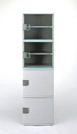 収納棚 ワイドストッカーW165( サニタリー収納 チェスト キッチンストッカー 洗面所 送料無料 )