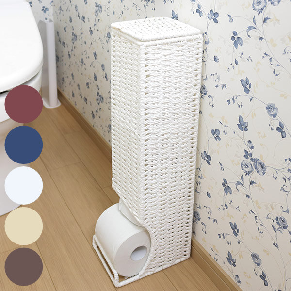 Toilet paper storage toilet paper rack Stocker toilet mounting (stand slim Asian case storage cases storage boxes of racks natural) & livingut | Rakuten Global Market: Toilet paper storage toilet paper ...