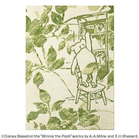 One Scene In The Book Of Classic Pooh Rug. Try Stretching Out Shelf Is  Winnie The Pooh Honey Pot, Good Luck.