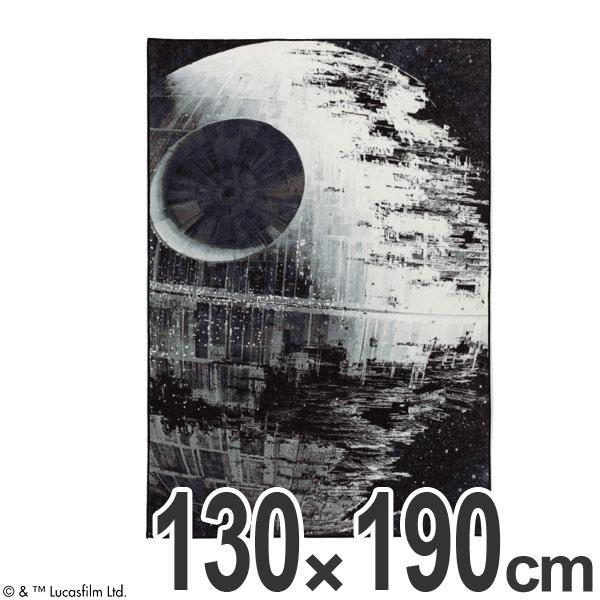 スターウォーズ ラグ スミノエ デススター 130×190cm ( 送料無料 ラグマット STAR WARS 防ダニ 日本製 床暖房対応 ホットカーペット対応 マット DEATH STAR カーペット )