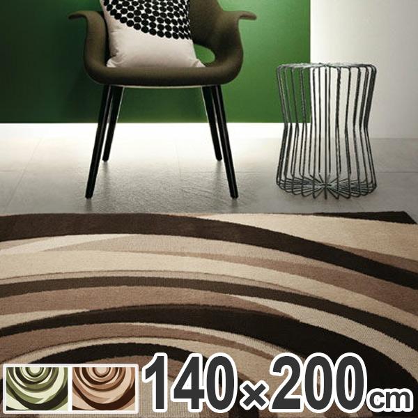 ラグ カーペット 2畳 スミノエ JV-402 140×200cm ( 送料無料 ラグマット 絨毯 じゅうたん ホットカーペット対応 床暖対応 レトロ モダン オールシーズン ジャガード ジャガードボア )