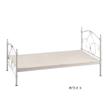 ベッド ホワイト Bed&Sofa RB-B5020 送料無料( 姫系 アイアン プリンセス かわいい )