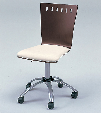 チェア ブラウン Transcript Print RS-C2186( オフィスチェア パソコンチェア ビジネスチェア イス 椅子 昇降 キャスター 送料無料 )