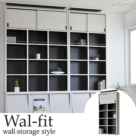 Open Rack Walle Fit 2 Rows 5 Shelf Prop On Top Of White (share Out Wall  Display Rack Shelf Storage Shelving Versatile Rack Shelf Stackable Wood)