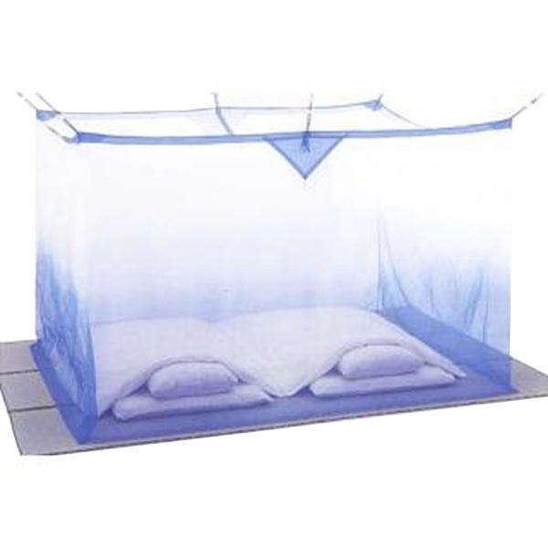 夏を涼しく快適に!質感がさわやかな麻の蚊帳 片麻蚊帳(かや) 6畳 ぼかし 送料無料