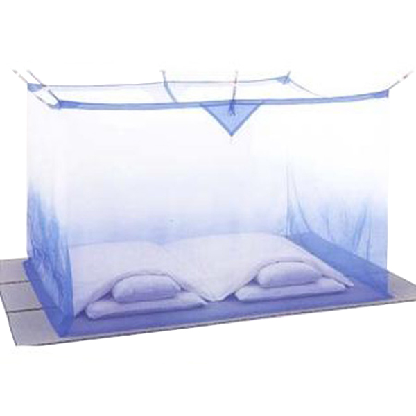 夏を涼しく快適に!手軽に洗えてしわになりにくい便利な蚊帳 洗える ナイロン蚊帳(かや) 4.5畳 ぼかし 送料無料