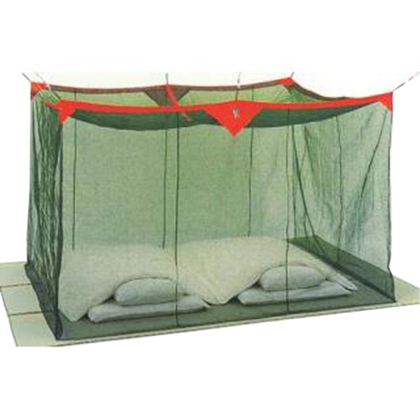 洗える ナイロン蚊帳(かや) 10畳 グリーン 送料無料