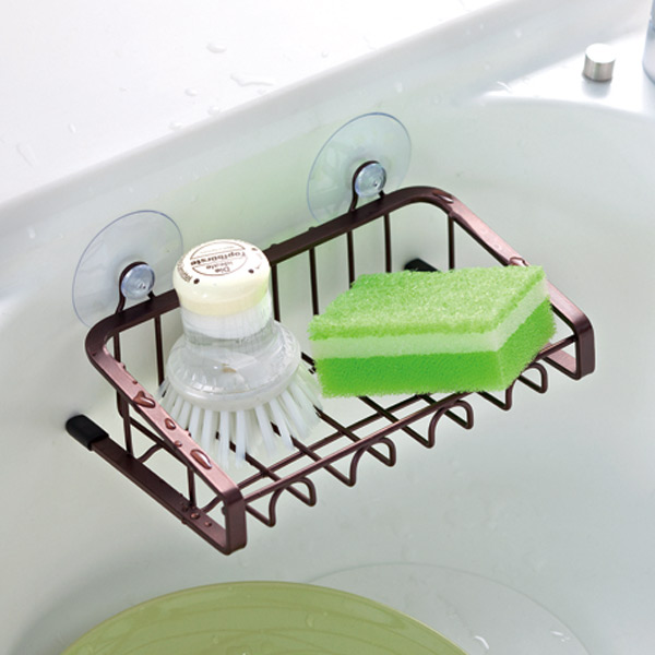 ■Stock limit, arrivalless ■ sponge holder sink pocket S ファビエ FV07 (Favie  storing rack kitchen drawer sponge sponge rack sponge holder sink pocket  sink ...