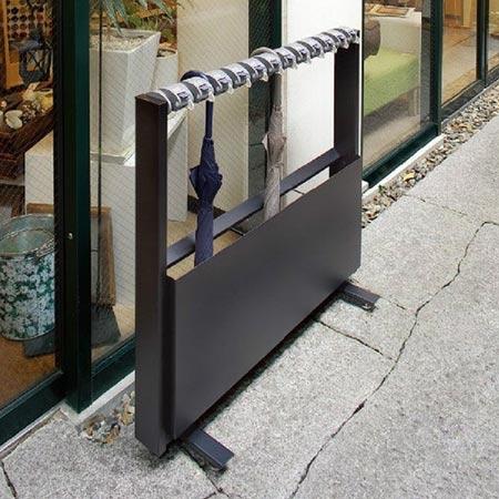 傘立て 業務用 12本立 カードロック式 StoreStyle Line12 ( 送料無料 アンブレラスタンド 傘スタンド 鍵付き )