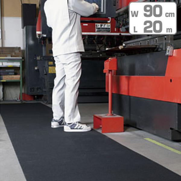 吸油マット クッションタイプ 業務用 90cm×20m巻 ( 送料無料 工場 機械油 食品加工 植物油 )