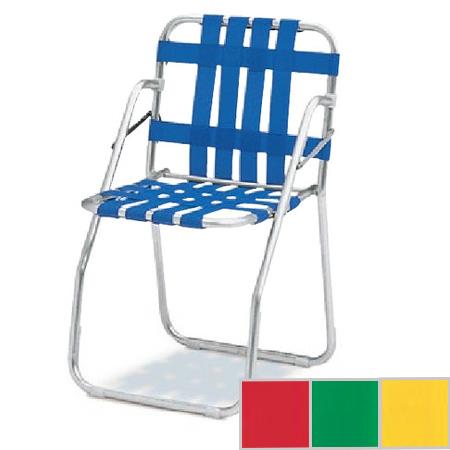 ガーデンチェア 折りたたみ式 アルミフレーム ( 送料無料 椅子 庭 プール )