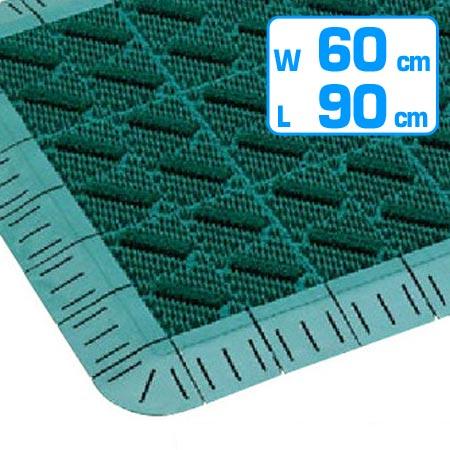 玄関マット 屋外用 カラーブラッシュマット 60×90 ( 送料無料 業務用 エントランスマット )