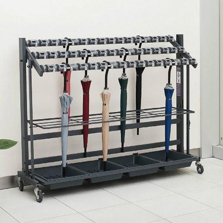 Folding card lock umbrella stand 2 (Teramoto with the umbrella stands umbrella stands key) for 48 for umbrella stand duties