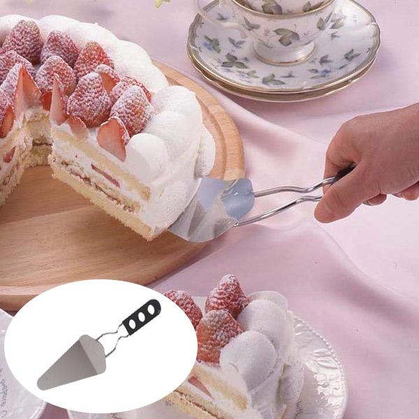 ケーキサーバー ターナー ステンレス製 ( フライ返し へら カトラリー 製菓道具 お菓子作り )