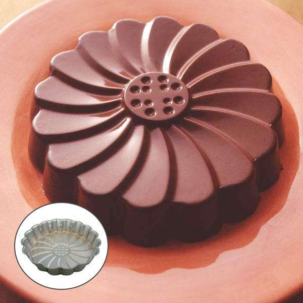 蛋糕模子玛格丽特型20cm烤型钢铁制镀铬(蛋糕模子玛格丽特型焼型製菓道具蛋糕模子点心制作)