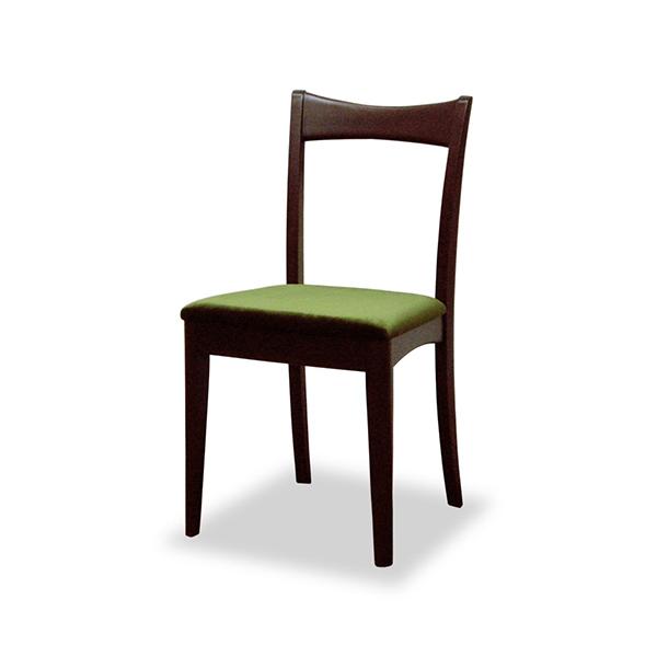 デスクチェア 椅子 天然木 ミッドセンチュリー調 MORRIS 座面高43cm ( 送料無料 イス いす チェア チェアー デスクチェア 完成品 パソコンチェア ダイニングチェアー 勉強椅子 勉強いす 木製 マホガニー )