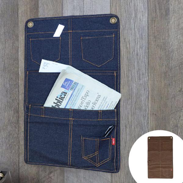 Wall Pocket L. S. M. denim storage pockets hanging wall case hanging storage Wall Pocket storage supplies stag 05P09Jan16 & livingut | Rakuten Global Market: Wall Pocket L. S. M. denim storage ...