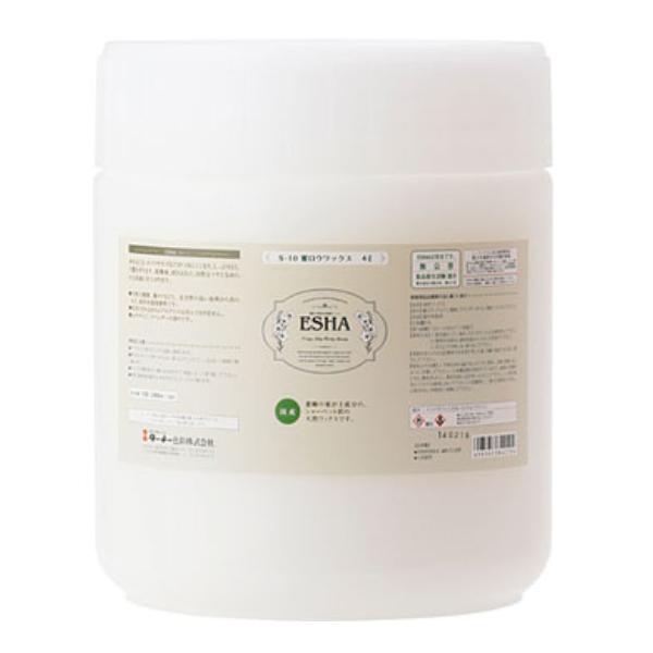 ESHA 蜜ロウワックス 4L ( ターナー色彩 エシャ フローリング 掃除 無垢材 蜜蝋 送料無料 )