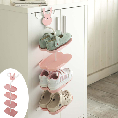Merveilleux Shoe Rack Kids Hook Type Rabbit (childrenu0027s Shoe Storage Animal Cute Shoe  Hanger Cupboard)