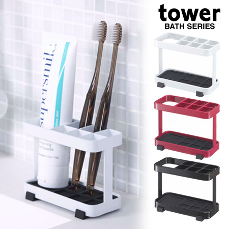 Toothbrush Holder Tooth Brush Stand Tower Tower (toothbrush Holder  Toothbrush Stand Toothbrush Every Toilet Sanitary Storage Michel Kay)