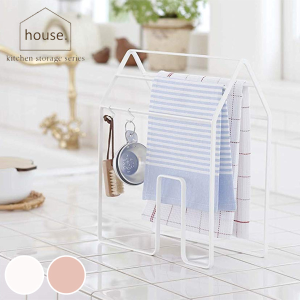 Towel Rack Cloth Hanger House Accessories With Hanging Hook Dish Over Stand Accessory Kitchen